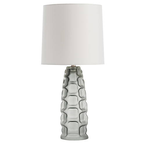 Elyssa Table Lamp, Smoke