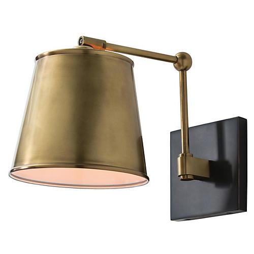 Watson Sconce, Brass/Bronze