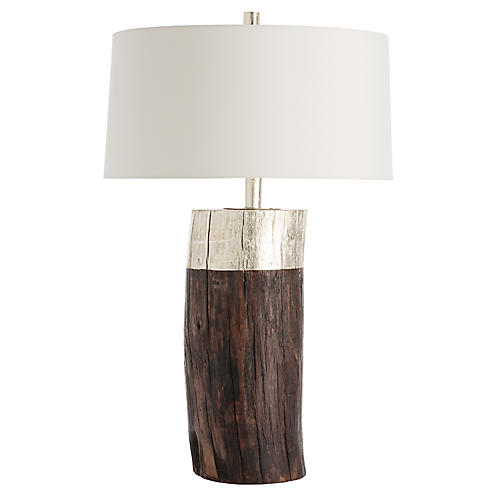 Emery Table Lamp, Natural