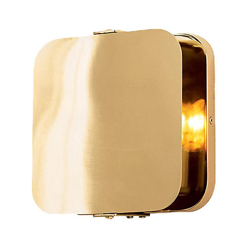 Mercury Sconce, Antiqued Brass