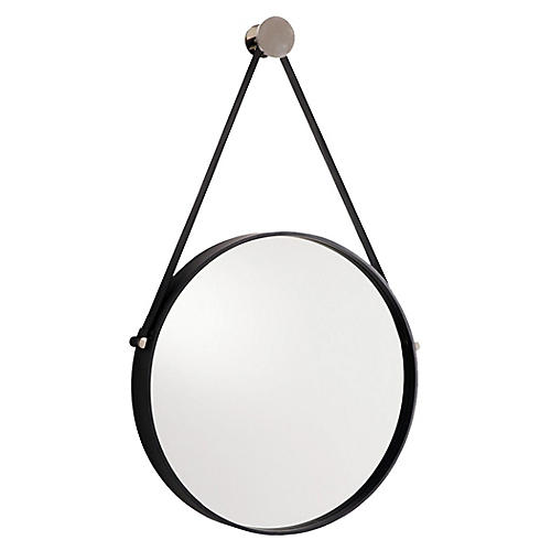 Expedition Wall Mirror, Black