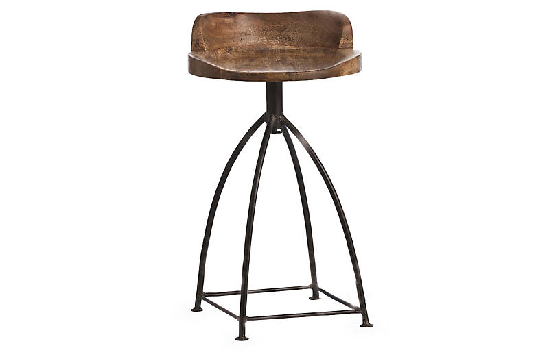 Henson Counter Stool - Brown - Arteriors