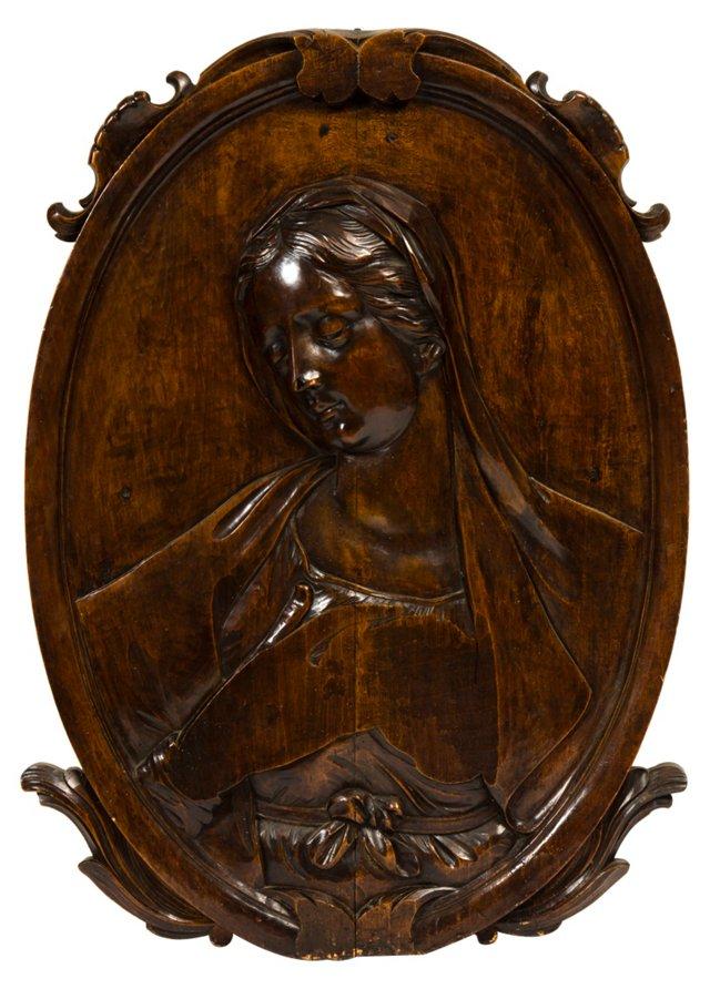 Madonna Plaque, C. 1780