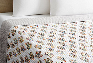 Bluebelle Paisley Quilt