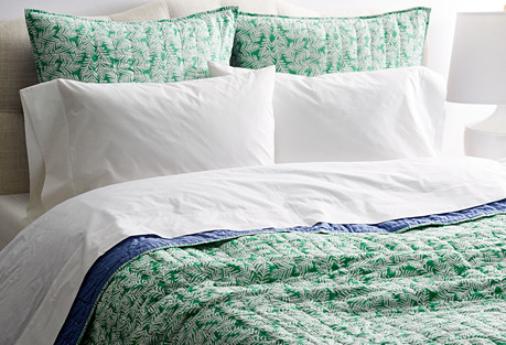 Maro Reversible Quilt, Green