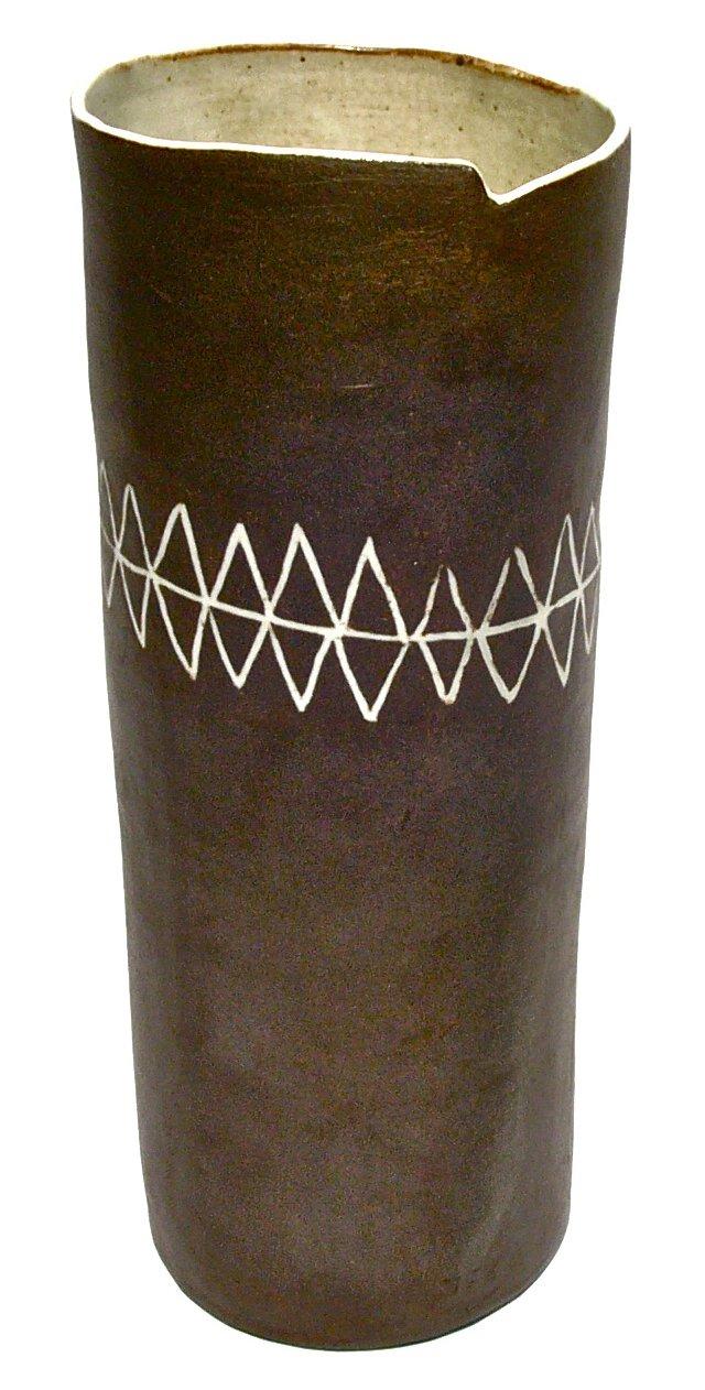 April Napier Stoneware Vase I