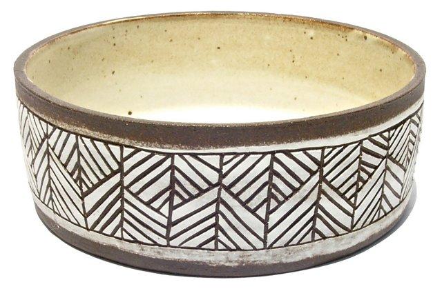 April Napier Shallow Stoneware Dish