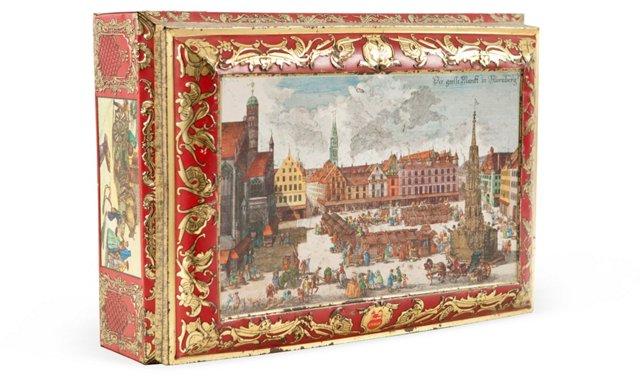 Vintage Polish Chocolate Box