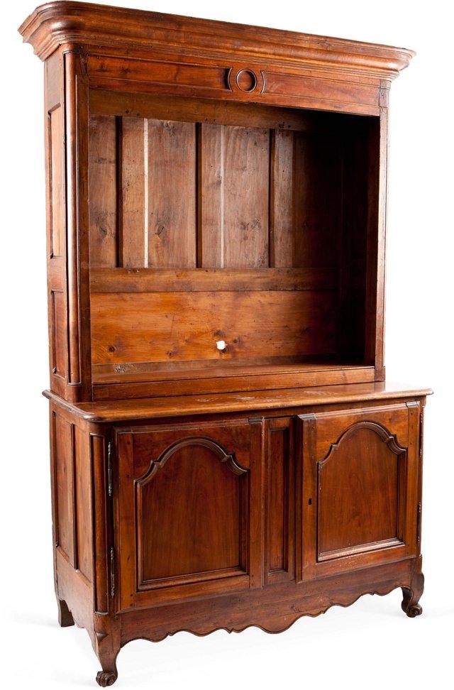 French Walnut Rifle Cabinet