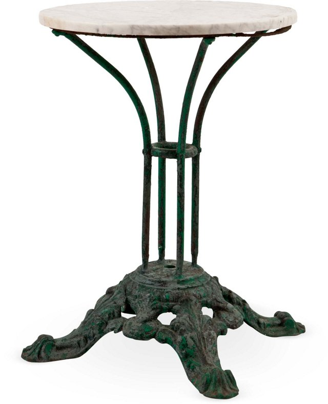 Antique French Iron Garden Table