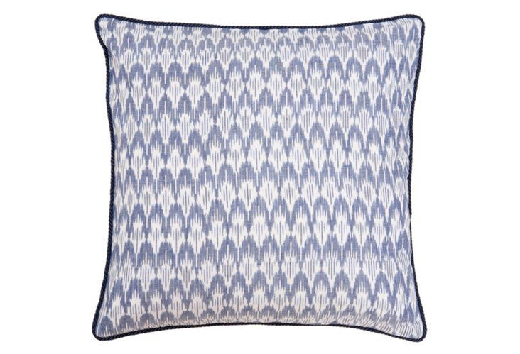 Sumatra 20x20 Pillow, Navy