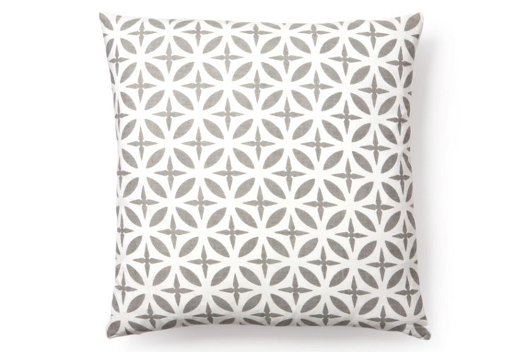 Troy 20x20 Pillow, Gray