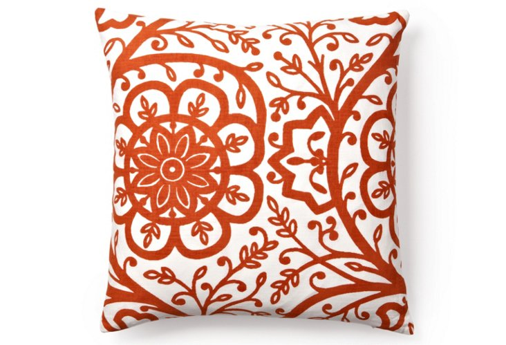 Avalon 20x20 Pillow, Peach