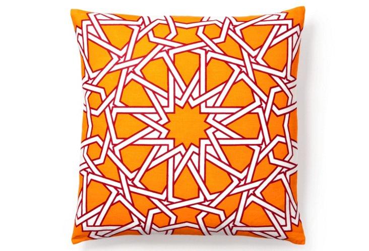 Byzantine 20x20 Pillow, Orange