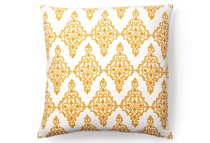 Maroc 20x20 Pillow, Orange