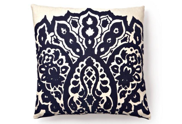 Johar 20x20 Pillow, Navy