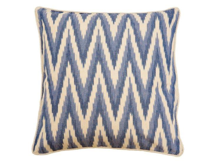Cascades 20x20 Pillow, Blue
