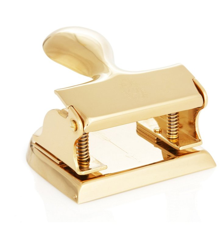 23K Gold-Plated Hole Punch