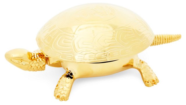 Gold-Plated Turtle Bell