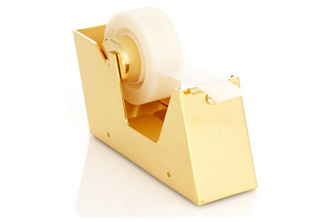 23K Gold-Plated Tape Dispenser