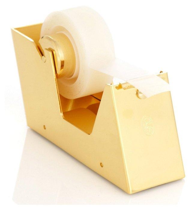 23K Gold-Plated Tape Dispenser