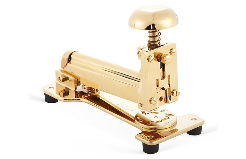 23K Gold-Plated Stapler