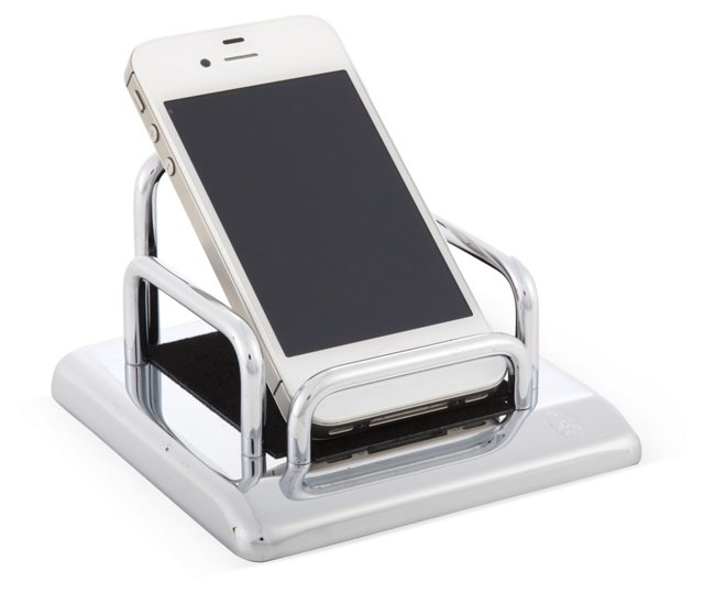 Chrome-Plated Smartphone Holder