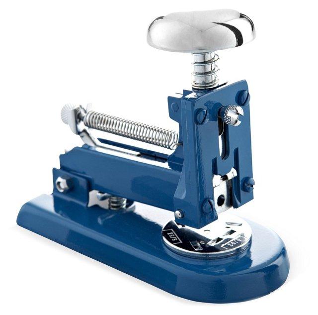 Chrome Stapler, Blue