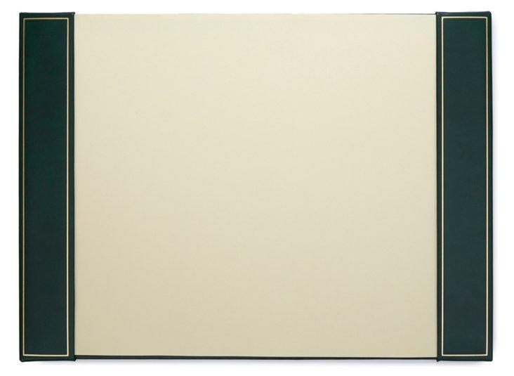 Leather Desk Pad, Evergreen