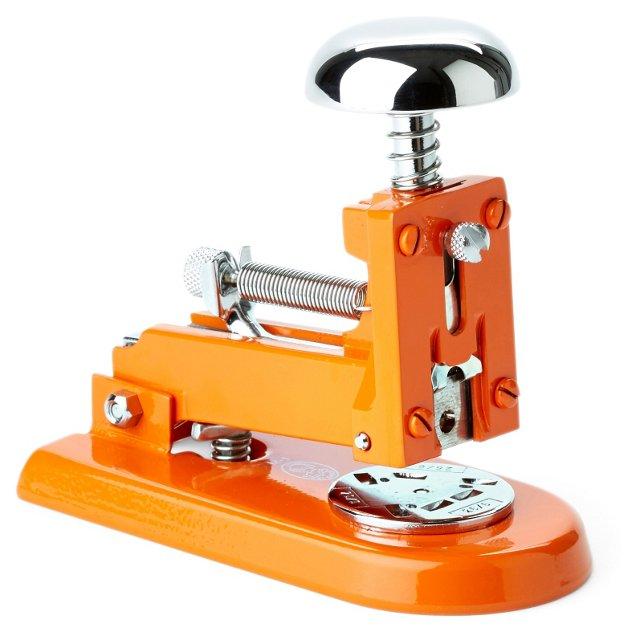 Chrome Stapler, Orange