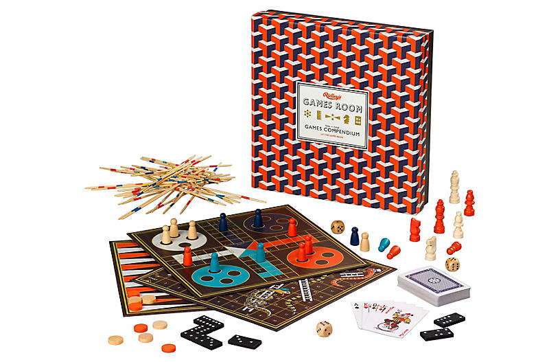 Ridley's Game Set, Red/Multi