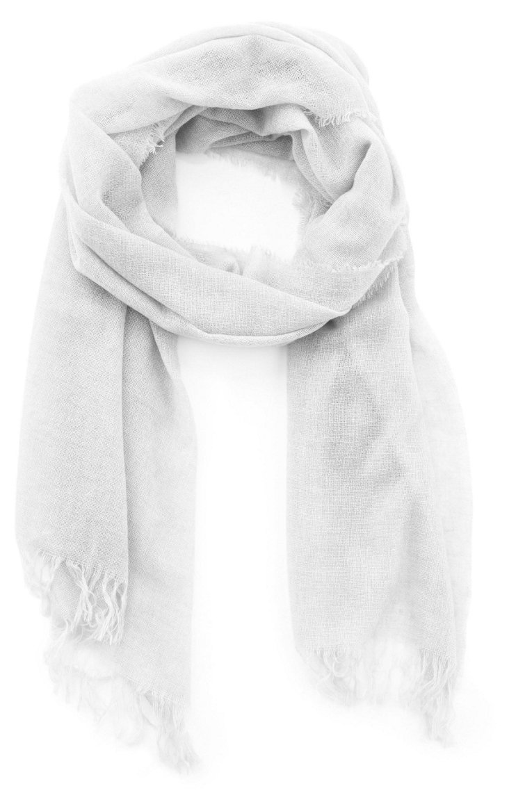 Cashmere Featherweight Wrap, Natural