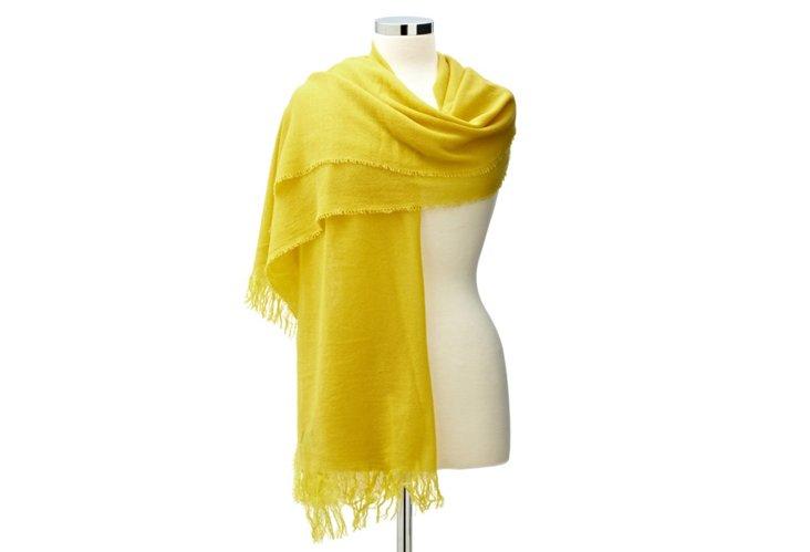 Featherweight Wrap, Yellow