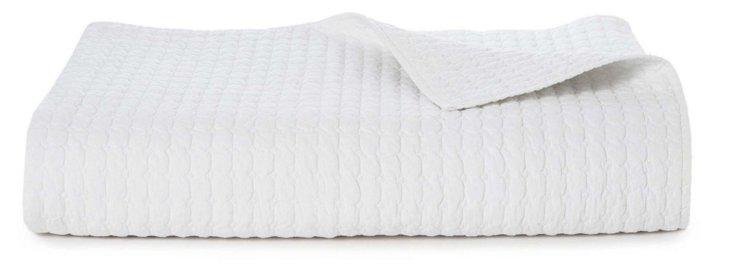 Manhattan Quilt, White