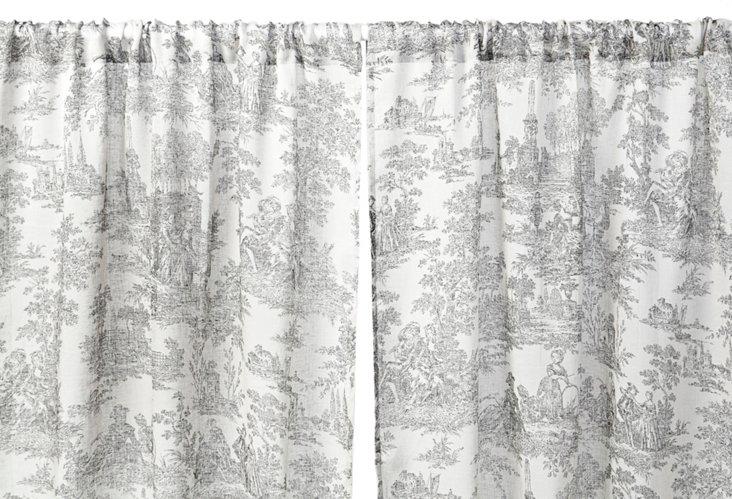"""Le Maison 96"""" Linen Curtain Panel"""
