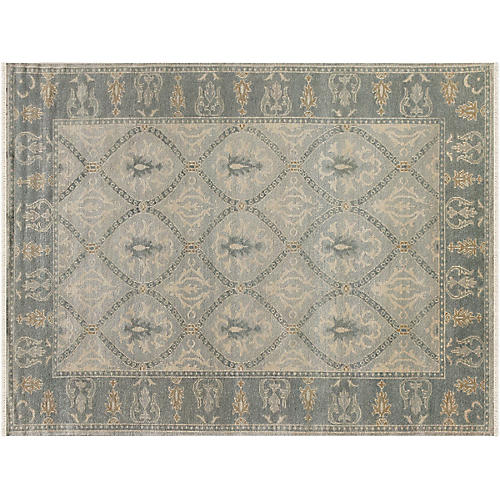 Mercier Hand-Knotted Rug, Gray