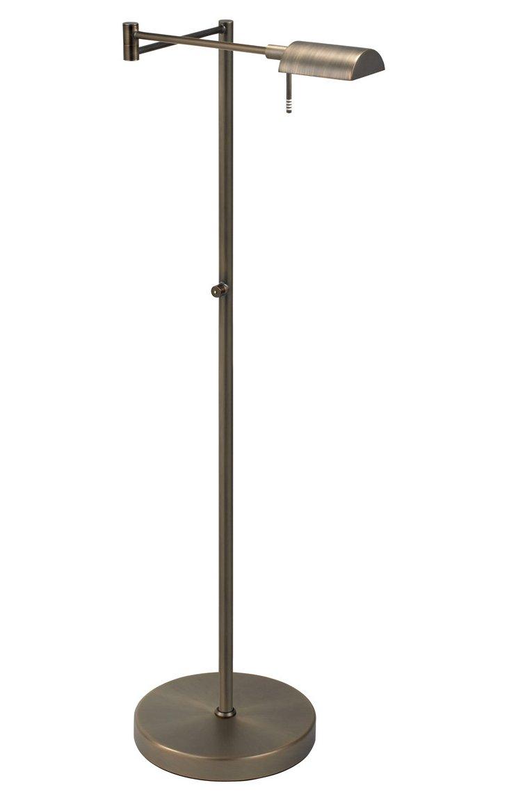 Galway Floor Lamp, Europa Bronze