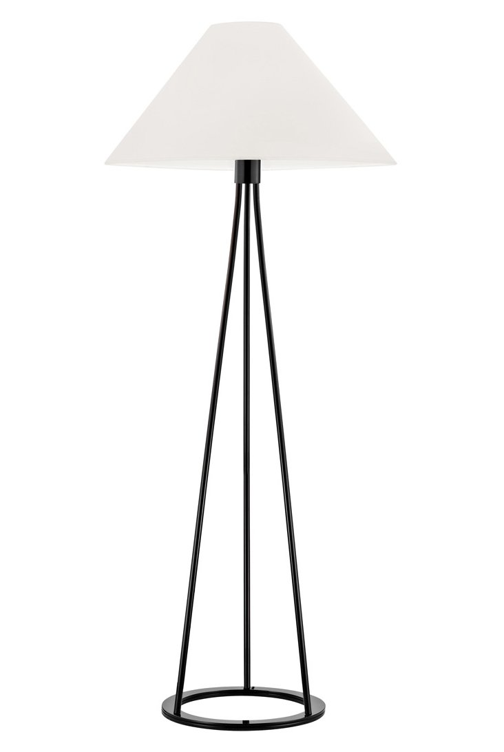 Tetra Floor Lamp, Black Gloss