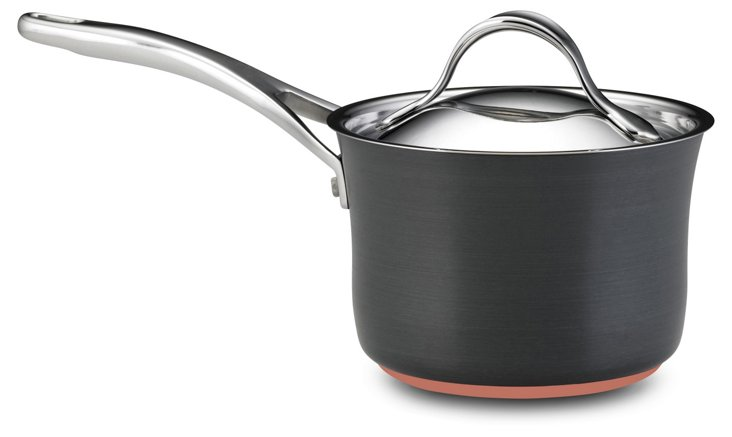 Small Saucepan w/ Lid, Gray