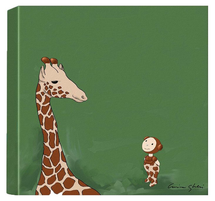 The Magic World of Uti, Giraffe