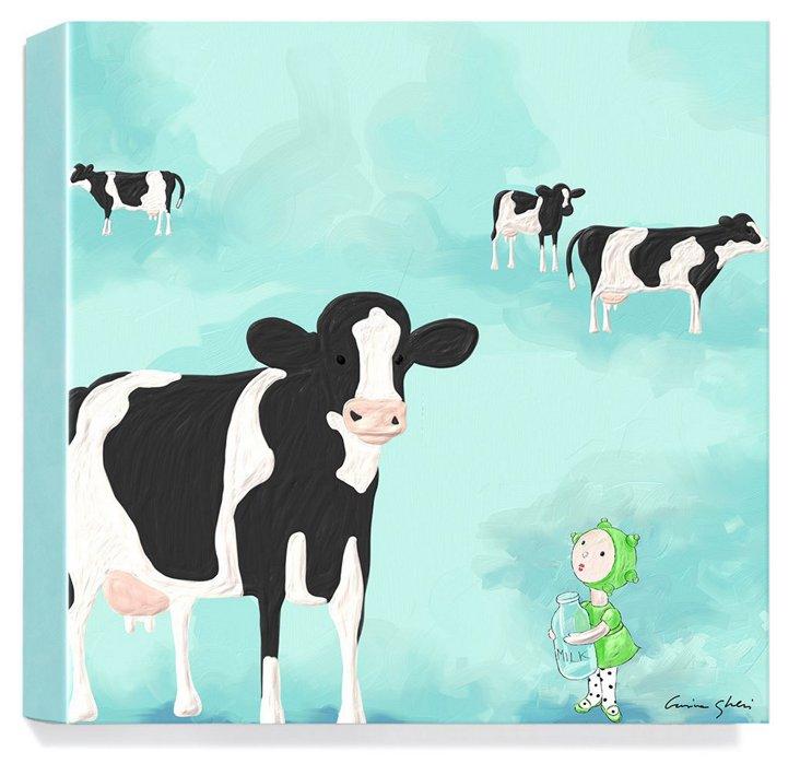 The Magic World of Uti, Cows