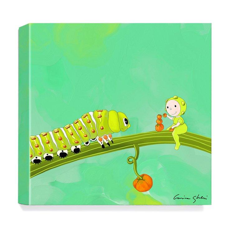 The Magic World of Uti, Caterpillar