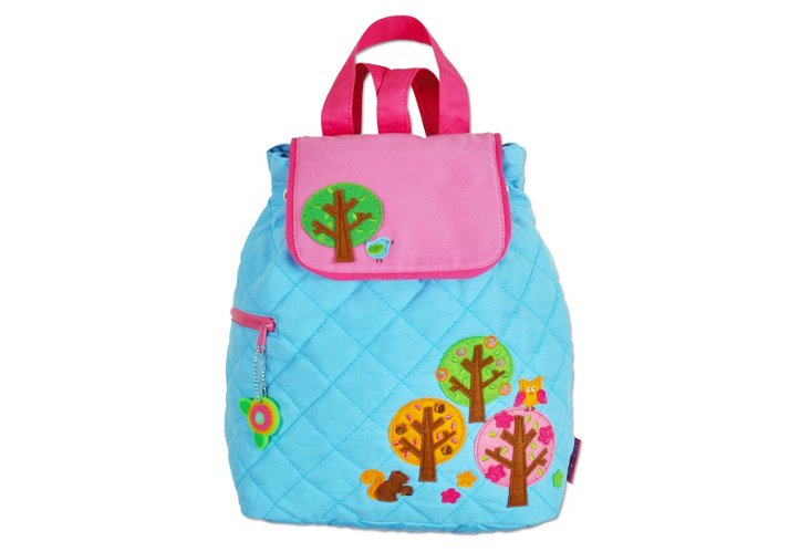 Quilted Backpack Trees