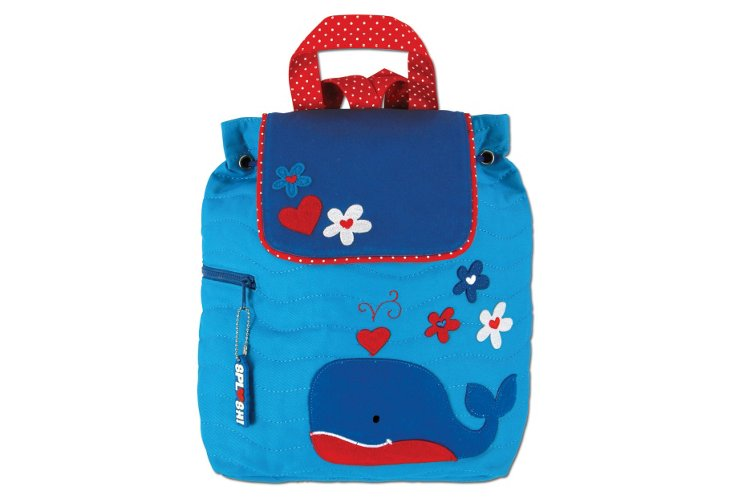 Quilted Backpack Whale