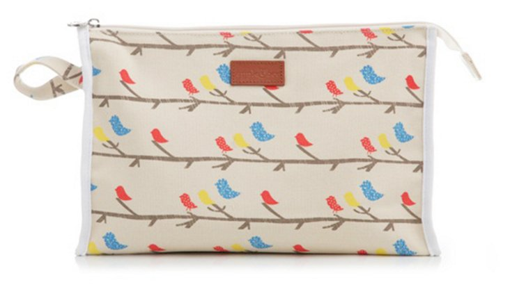 Cosmetic Bag, Small Bird