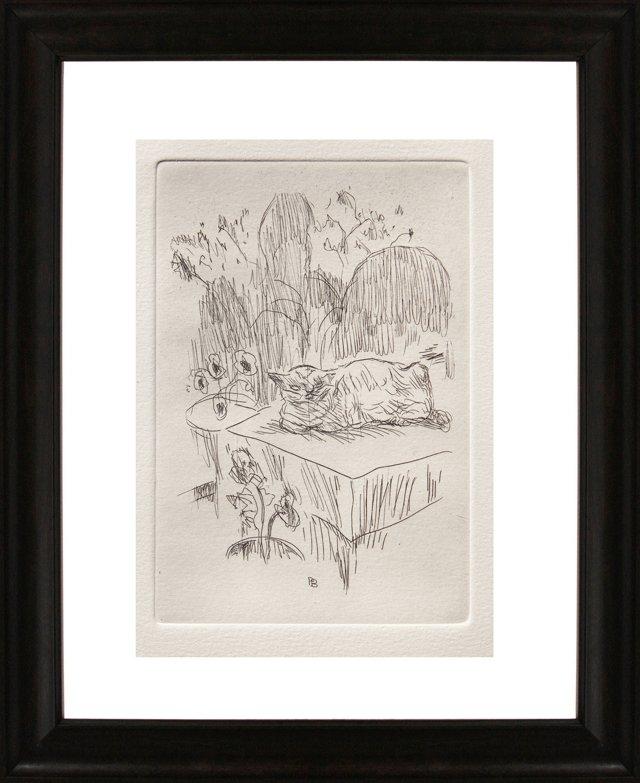 Pierre Bonnard, Cat