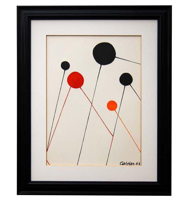 Alexander Calder, Bubbles, 1968