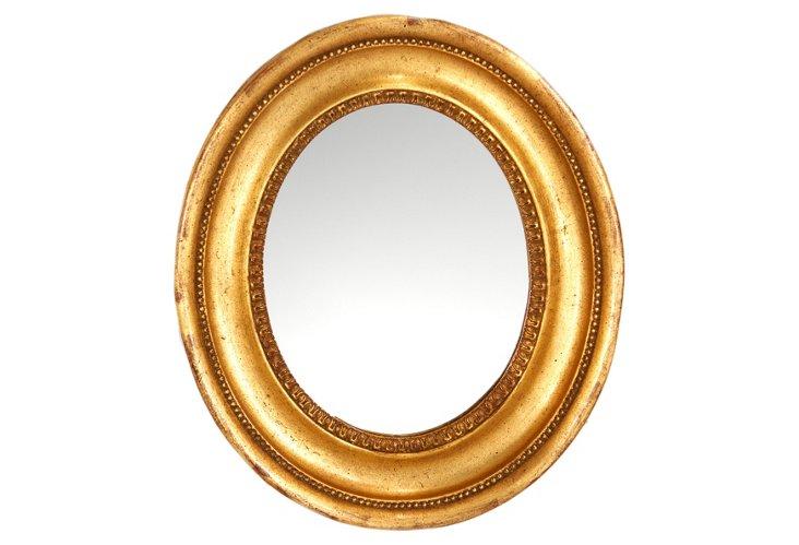 Oval American Cove Mirror