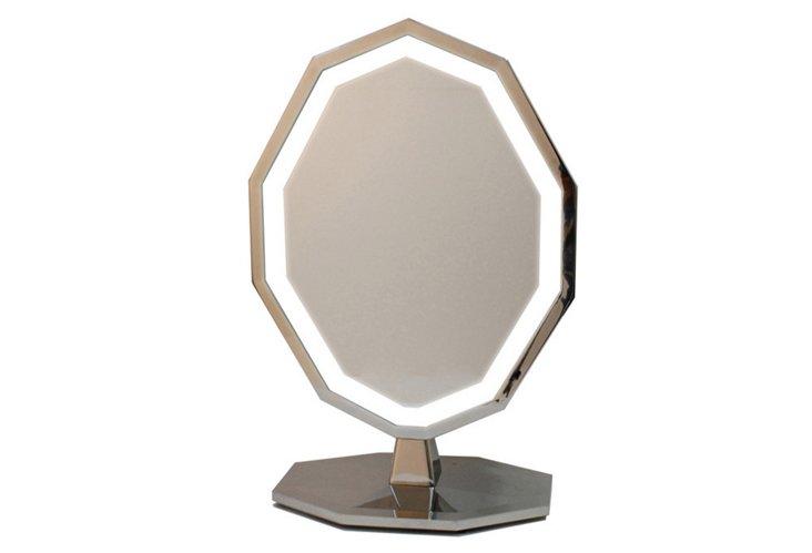 Nickel Vanity Mirror