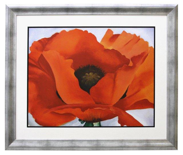 Georgia O'Keeffe, Red Poppy